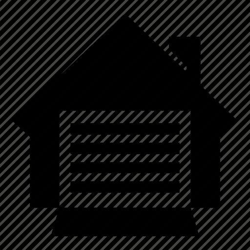 creative, document, door, garage, open icon
