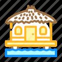 bungalow, water, house, real, estate, skyscraper