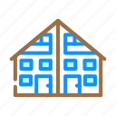 two, family, house, real, estate, bungalow