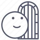 citadel, door, gate, wood icon