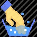 clothes, detergent, hand, wash, water