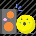 cinema, disco, music, speakers icon