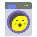 clothes, dryer, machine, wash, washing icon