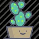 cactus, decor, flower, interior icon