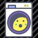 clothes, dryer, machine, wash, washing icon