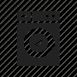 clean, washing machine icon