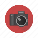 camera, household appliances, media, photo icon