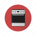 cook, cooker, cooking, cooking-range, household appliances, kitchen, stove icon