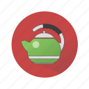 household appliances, teapot icon