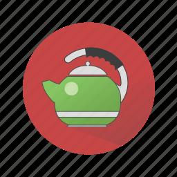 household appliances, teapot icon