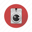 household appliances, washer, washing machine icon