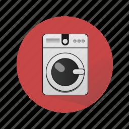 household appliances, washer, washing machine icon