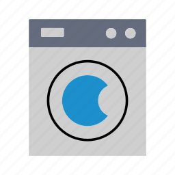 clean, clean clothes, household, laundry, washing, washing machine icon