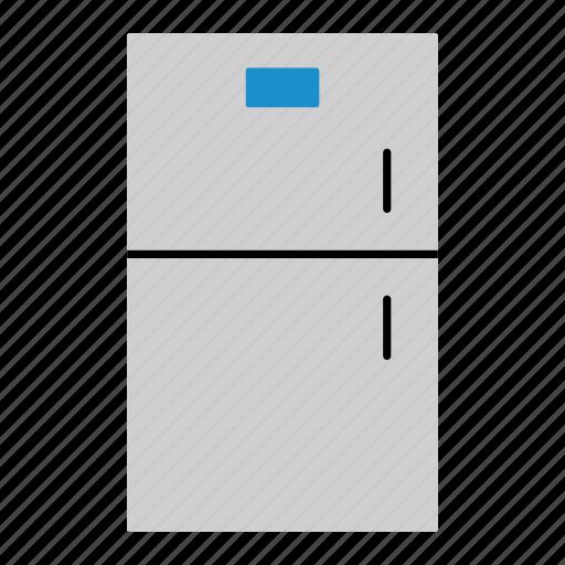 electrical, equipment, freezer, fridge, household, kitchen, refrigerator icon