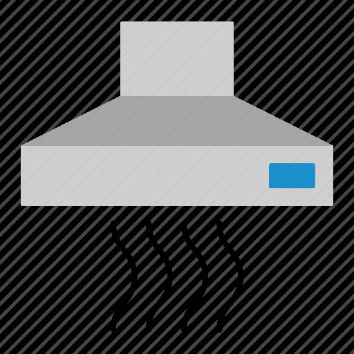 chimney, cooker, cooker hood, cooking, hood, household, kitchen hood icon