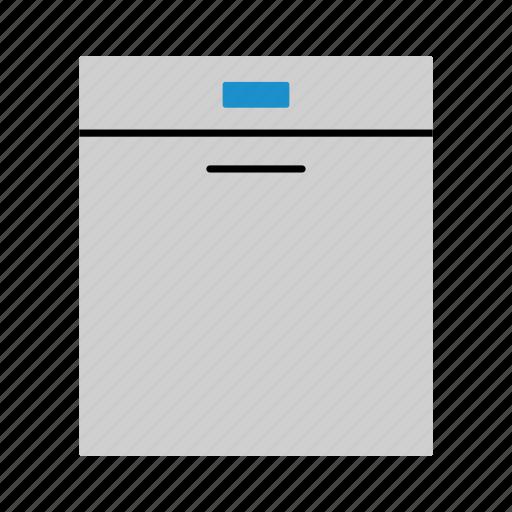 dish, dish machine, dishwasher, equipment, household, wash, washing icon