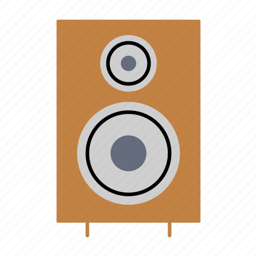 audio, household, music, noise, speaker, subwoofer, woofer icon
