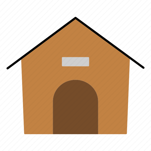 animal, dog, doghouse, home, household, kennel, pet icon