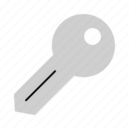 house key, household, key, open, security, unlock icon
