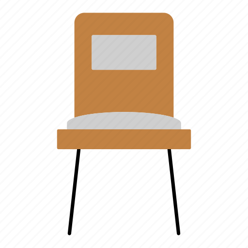 chair, diningroom, furniture, household, seat, wooden icon