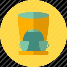 coffee, cups, drink, kitchen, machine, maker, tea icon