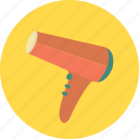 dryer, hairdryer, beauty, care, styling icon