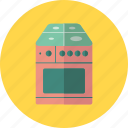 cook, cooking, kitchen, stove, dinner, oven icon