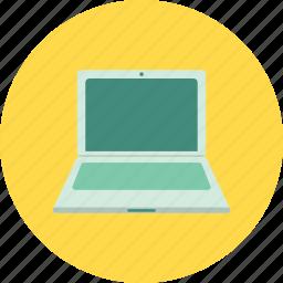display, laptop, macbook, netbook, notebook, screen, technology icon