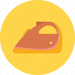 dry, hot, iron, ironing, laundry, pressing, steam icon