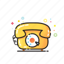 call, home, retro, telephone icon