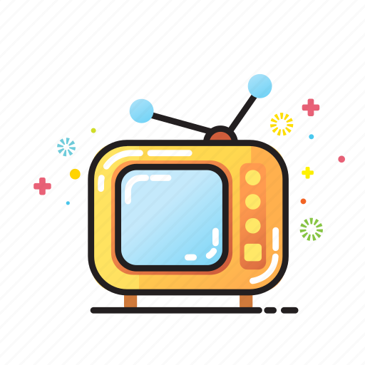 home, retro, television, tv programm, video icon