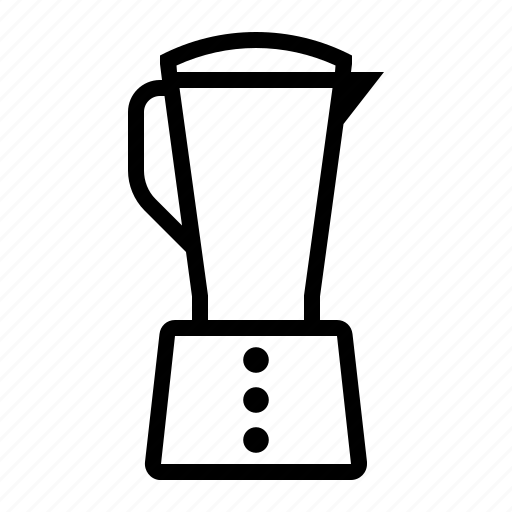 household items, liquidiser, liquidizer icon