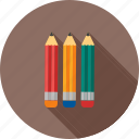 art, colorful, colour, drawing, pencil, sharp, write icon