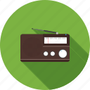 audio, entertainment, music, radio, sound, stereo, volume icon