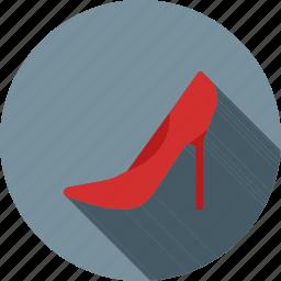 beauty, elegant, fashion, female, heels, high heel, shoes icon