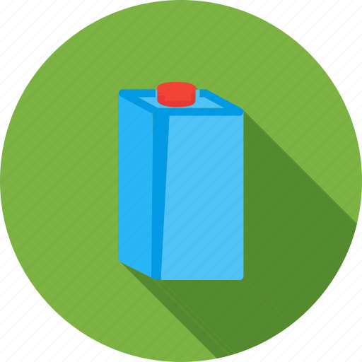 box, carton, drink, food, juice, milk, pack icon