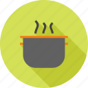 cooking, food, kitchen, pan, pot, soup, steel