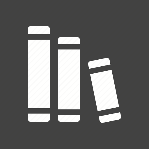 books, education, information, knowledge, library, literature, study icon