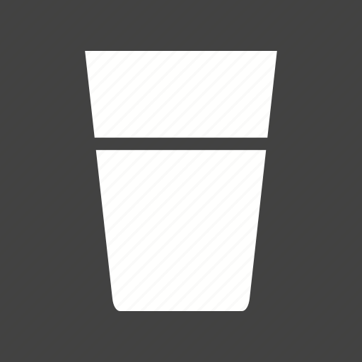 beverage, clear, crystal, drink, glass, transparent, water icon