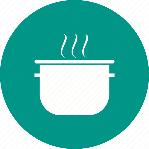 cooking, food, kitchen, pan, pot, soup, steel icon