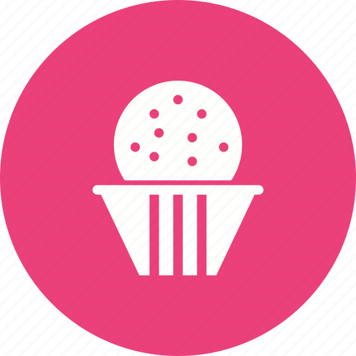 cake, cream, cup, cupcake, dessert, party, sweet icon