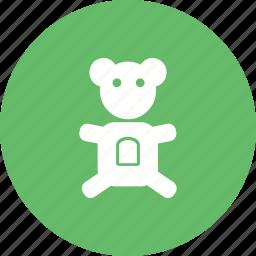 bear, cartoon, cute, soft, stuffed, teddy, toy icon