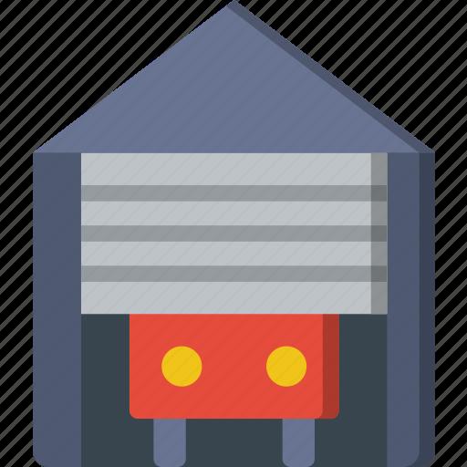 belongings, door, furniture, garrage, households icon