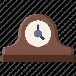 belongings, clock, furniture, households icon