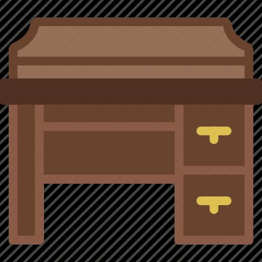 belongings, furniture, households, vanity icon