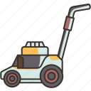 lawnmower, grass, garden, yard, landscaping