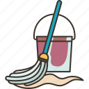 mop, floor, cleaning, housework, hygiene