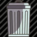 trash, bin, garbage, dumpster, recycle