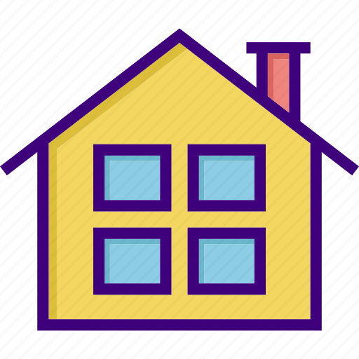 apartment, architecture, building, estate, home, house, property icon
