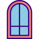 architecture, building, door, house, interior, office, window icon